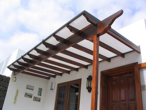 Milnrow windows - Pergola with roof ...